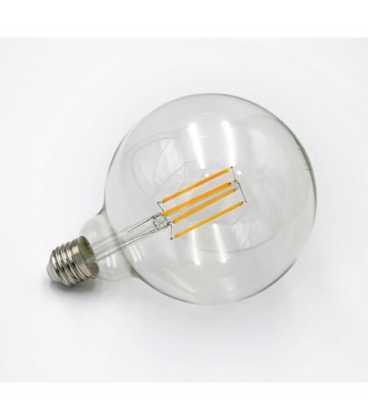 Λαμπτήρας ADELEQ LED COG GLOBE Φ125 ΔΙΑΦΑΝΟ Ε27 10W 230V ΘΕΡΜΟ (13-2711251000)