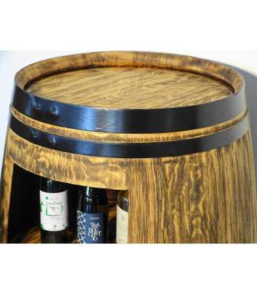 Τραπέζι-μπαράκι από ξύλινο βαρέλι