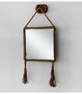 Καθρέφτης τοίχου με πλαίσιο από σχοινί 251