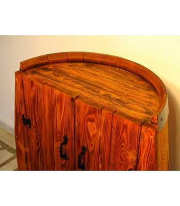 Ντουλάπι από ξύλινο βαρέλι κρασιού