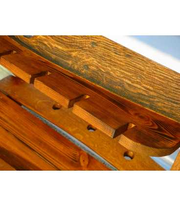 Holz Weinregal