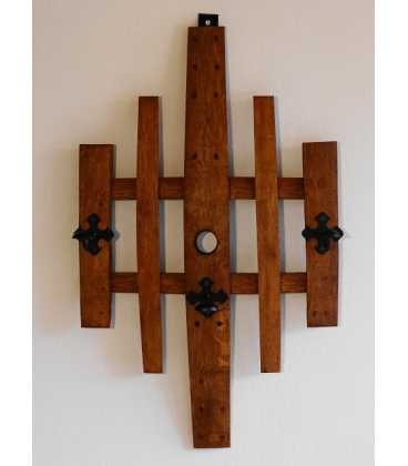 Wooden wall hanger