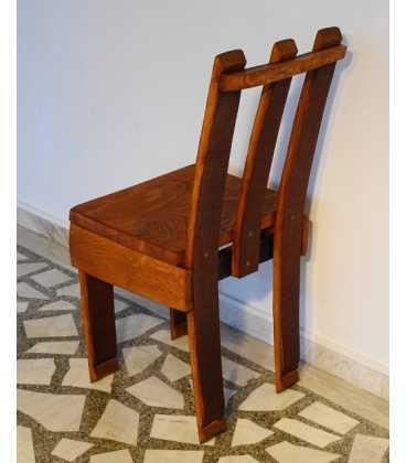 Σετ τραπέζι με δύο καρέκλες και έναν καναπέ από ξύλινα βαρέλια κρασιού 054