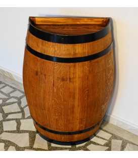 Wine barrel table-bar 055