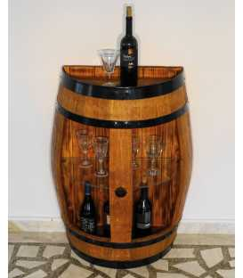 Wine barrel table-bar 056