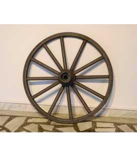 Old iron wheel sandblasted 061