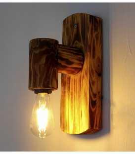Holz Wandleuchter 123