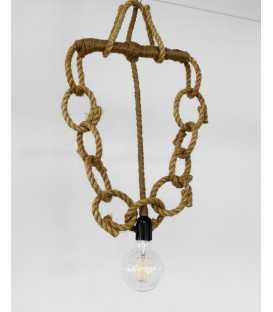 Rope pendant light 154