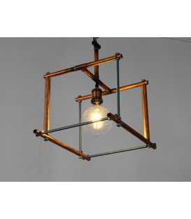 Metal pendant light 185