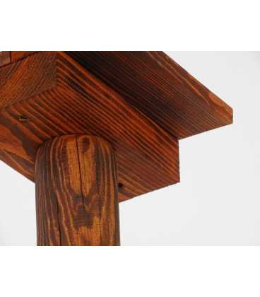 Κρεμαστό φωτιστικό οροφής από ξύλο 200